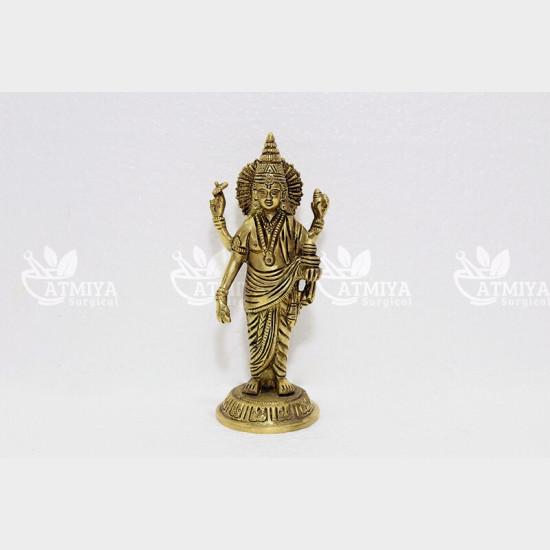 God Dhanvantri Brass - Atmiya Surgical