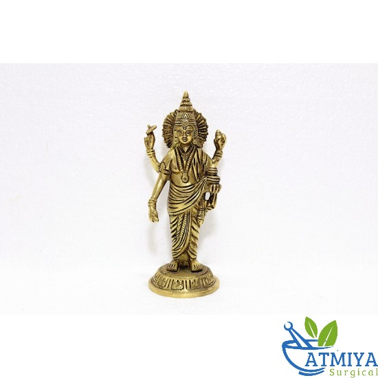 God Dhanvantri Brass - Atmiya Surgical